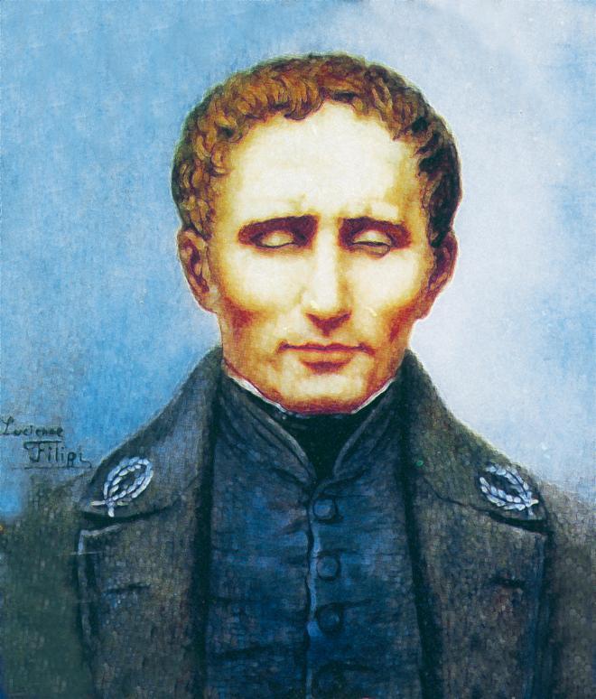 Ritratto di Louis Braille