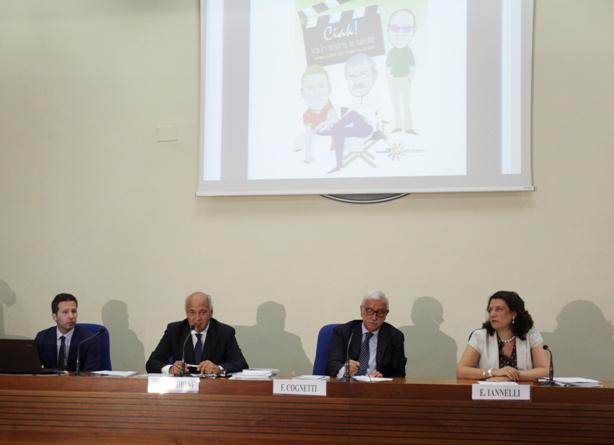Conferenza stampa sul cancro