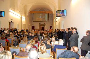 Conferenza inaugurale del nuovo centro di maculopatie (Roma, 26 maggio 2010)