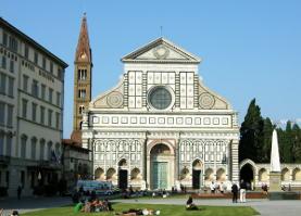 Piazza S. Maria Novella a Firenze