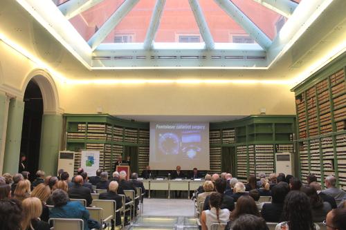 Conferenza Giornata mondiale della vista (10 ottobre 2013, biblioteca G. Spadolini, Sala degli atti parlamentari, Senato della Repubblica)