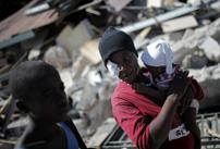 Terremotati ad Haiti (Fonte: Cbm)