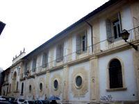 Facciata dell'Ospedale S. Gallicano di Roma (INMP)