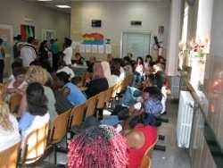 Sala d'attesa del S. Gallicano
