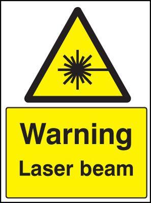 Pericolo, raggio laser (segnale)