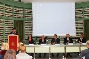 Conferenza presso il Senato della Repubblica (Sala degli Atti Parlamentari)