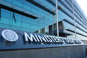 Ministero della Salute (sede di Roma Eur, dove si svolgono i lavori della Commissione nazionale per la prevenzione della cecità