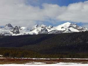 montagne innevate