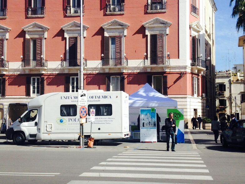 Campagna a Bari (Unità mobile oftalmica)