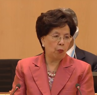 Margaret Chan (Direttore generale OMS. Fonte: WHO).