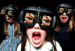 Spettatori ad un film 3D (Fonte: appuntidigitali.it)