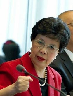La Direttrice Generale Oms Margaret Chan (Foto WHO-V. Martin, part.)