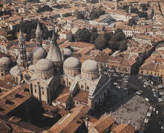 Padova, veduta aerea (Foto: nonsoloabili.org)