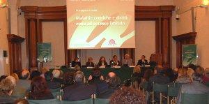 Sala Capitolare del Senato (conferenza stampa a Roma,11 marzo 2010)