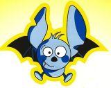 Bat, il pipistrellino miope, mascotte della campagna Apri gli occhi della IAPB Italia onlus