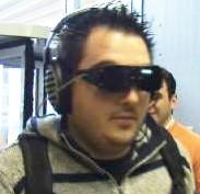 Prototipo del dispositivo che traduce le immagini in suoni (Fonte: CASBliP).