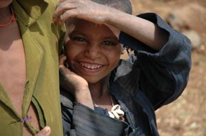 Foto: bambino etiope