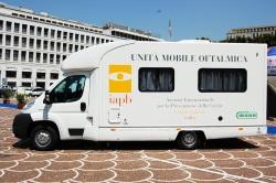 Unità mobile oftalmica (Umo): camper attrezzato per le visite oculistiche
