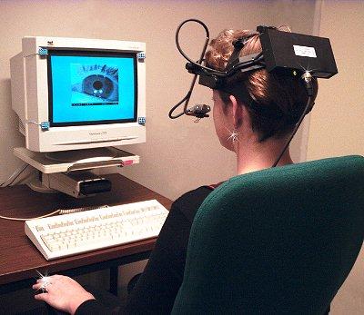 Inseguitore visivo come è oggi: in futuro sarà miniaturizzato