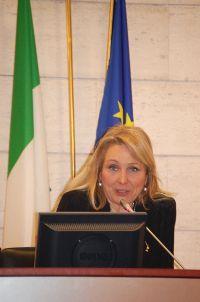 Il Sottosegretario alla Salute Francesca Martini