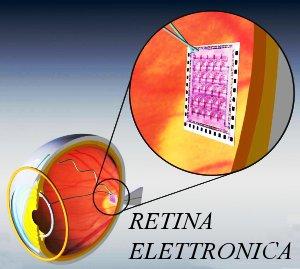 I ricercatori stanno cercando di rendere la retina elettronica più compatibile con i tessuti biologici