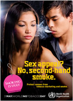 Campagna contro il fumo passivo (Oms)