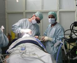 Intervento chirurgico per endoftalmite