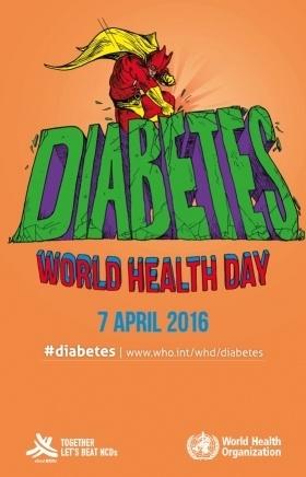 Locandina Giornata mondiale della salute 2016
