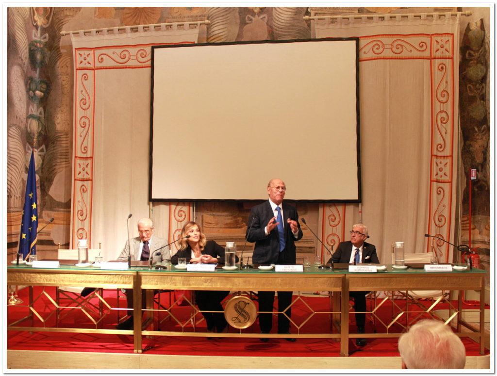 Conferenza presso il Senato (Sala Zuccari, Palazzo Giustiniani), Roma, 8 ottobre 2015 - Giornata mondiale della vista (IAPB, OMS e UICI)