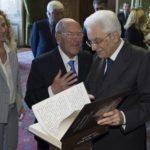 Il Capo dello Stato Mattarella nel Salone dei Corazzieri con le delegazioni della IAPB Italia onlus e di UICI