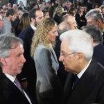 Il Vicepresidente della IAPB Italia onlus Michele Corcio col Capo dello Stato Sergio Mattarella