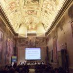 Sala Zuccari di Palazzo Giustinani (Sala affrescata del Senato della Repubblica). Inaugurazione della Conferenza OMS sulla riabilitazione visiva (Roma, 9 dicembre 2015)