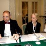 S. Mariotti (OMS) con M. L. Jackson (responsabile delle Americhe per la Organizzazione mondiale della sanità)