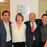 Da destra Lucy Walker (Direttore generale Macular Disease Foundation Australia), Giuseppe Castronovo (Presidente IAPB Italia onlus), Julie Heraghty (Direttore esecutivo Macular Disease Foundation Australia) e Tiziano Melchiorre (Segretario generale IAPB)