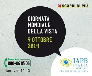Locandina della giornata mondiale della vista 2014