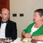 Da sinistra Silvio Mariotti (Oms) e J. Keefee (Regione del Pacifico)