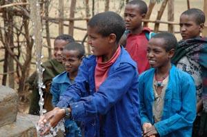 Etiopia bambini