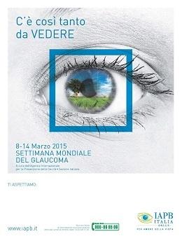 Copertina settimana mondiale glaucoma 2015