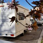 Camper attrezzato della IAPB Italia onlus per controlli gratuiti della vista e della pressione oculare (Roma, 12 marzo 2015)