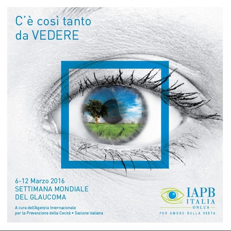 Locandina settimana mondiale del glaucoma 2016