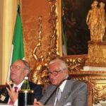 Da destra il prof. Mario Stirpe (Presidente Commissione Nazionale Prevenzione Cecità) e avv. Giuseppe Castronovo (Presidente IAPB Italia onlus)