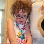 Una bimba inglese affetta da retinite pigmentosa visita il Polo Nazionale