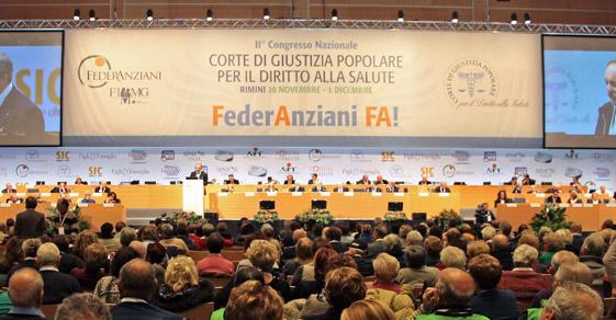 """Congresso """"Corte di giustizia popolare per il diritto alla salute"""" Rimini"""