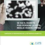 Locandina della campagna sulla retinopatia diabetica
