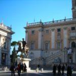 Convegno sul diabete: 13 novembre 2009 in Campidoglio (sulla destra edificio che ospita la Sala Giulio Cesare)