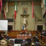 Sala Giulio Cesare in Campidoglio: relatori sul diabete (Roma, 13 novembre 2009)