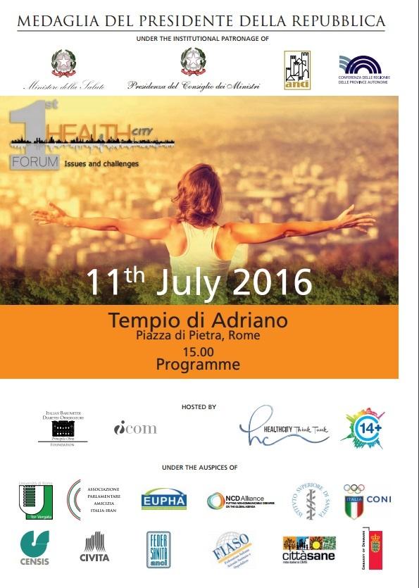 Locandina forum salute 2016