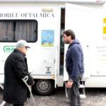 Unità mobile oftalmica della IAPB Italia onlus per controlli oculistici gratuiti (Roma, 14 marzo 2013)