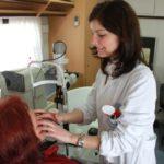 Check-up oculistici gratuiti a bordo di una Unità mobile oftalmica della Agenzia internazionale per la prevenzione della cecità-IAPB Italia onlus (Gemelli, Roma, 11-12 marzo 2013)