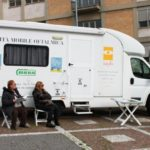Unità mobile oftalmica della IAPB Italia onlus presso il Policlinico A. Gemelli per check-up oculistici gratuiti (Roma, 11-12 marzo 2013)